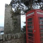 English phonebox to speak in English