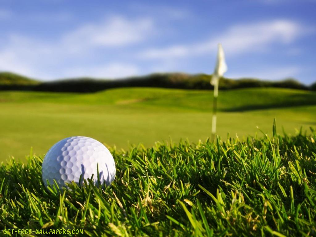 English course with golf